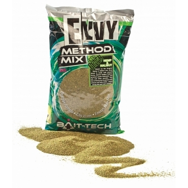 Bait-Tech Envy Green Hemp & Halibut 2kg