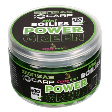 Sensas Crazy Mini Kulki Power Green 80g