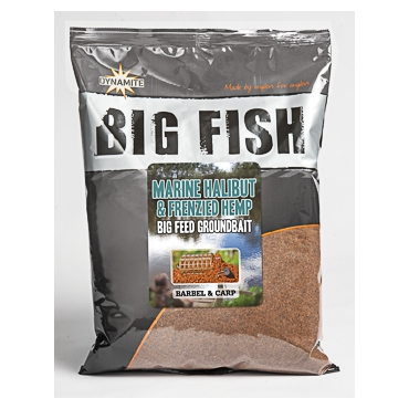 Dynamite Baits Big Fish Marine Halibut & Hemp Mix 1.8kg
